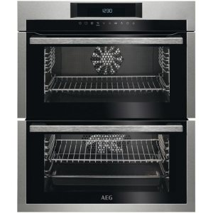 AEG DUE731110M Built Under Double Oven in Stainless Steel