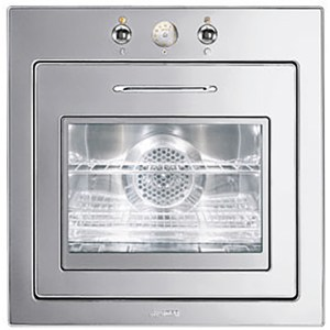 Smeg Piano Design F67-7 Integrated Single Oven in Stainless Steel
