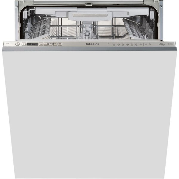 Hotpoint Ultima HIO3P23WLEUK Integrated Dishwasher in Stainless Steel