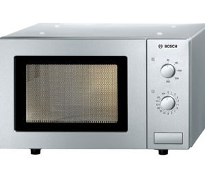 Bosch HMT72M450B Free Standing Microwave Oven in Brushed Steel
