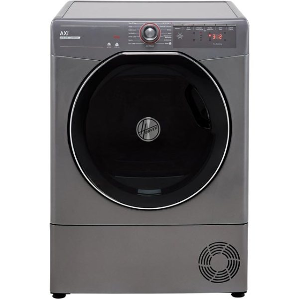 Hoover AXI ATDC10TKERX Free Standing Condenser Tumble Dryer in Graphite