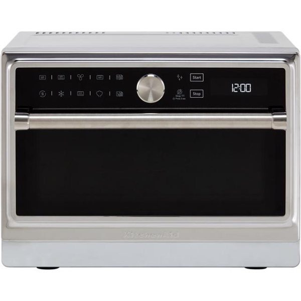 KitchenAid KMQFX33910 Free Standing Microwave Oven in Stainless Steel