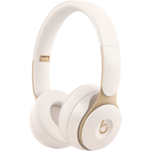 Beats MRJ72ZM/A Headphones in Ivory White