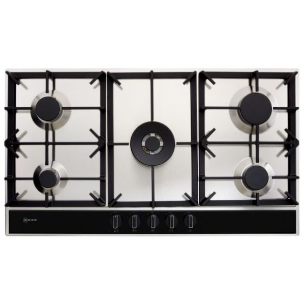 NEFF N70 T29DA69N0 Integrated Gas Hob in Stainless Steel