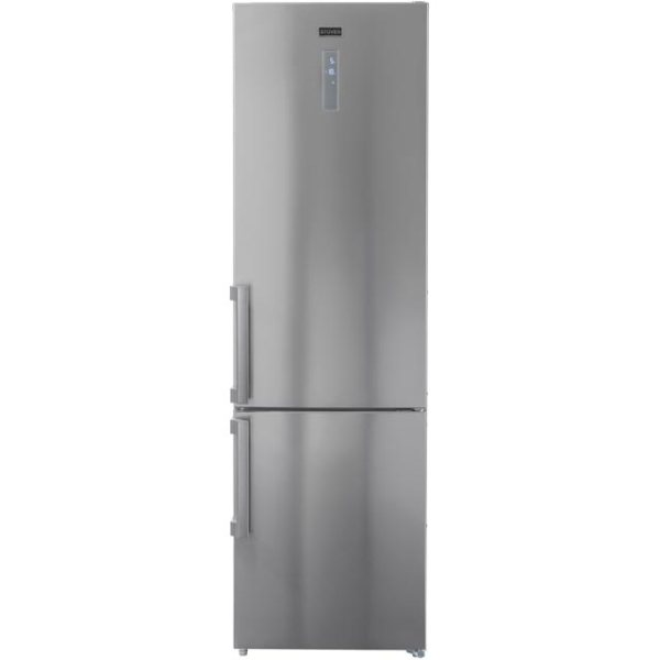 Stoves NF60208SS Free Standing Fridge Freezer Frost Free in Stainless Steel