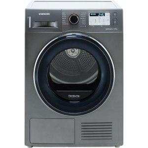 Samsung DV80M50133X Free Standing Heat Pump Tumble Dryer in Graphite