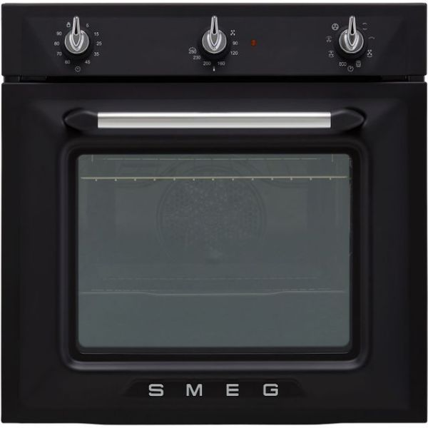 Smeg Victoria SF6905NO1 Integrated Single Oven in Matte Black