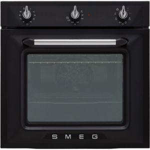Smeg Victoria SF6905NO1 Integrated Single Oven in Matte Black