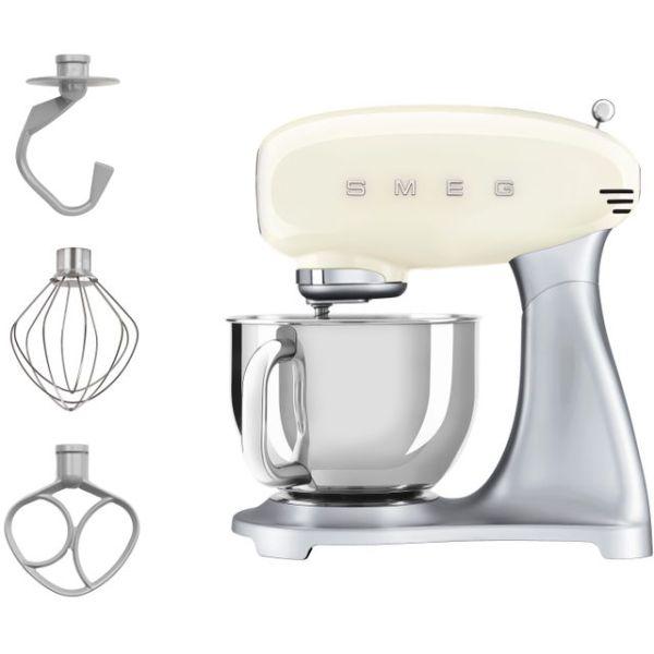 Smeg SMF02CRUK Food Mixer in Cream