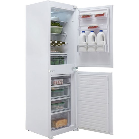 Stoves INT50FF Integrated Fridge Freezer Frost Free in White