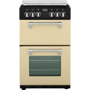 Stoves Mini Range RICHMOND550E Free Standing Cooker in Champagne