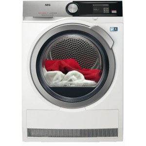 AEG AbsoluteCare Technology T8DEA866C Free Standing Heat Pump Tumble Dryer in White