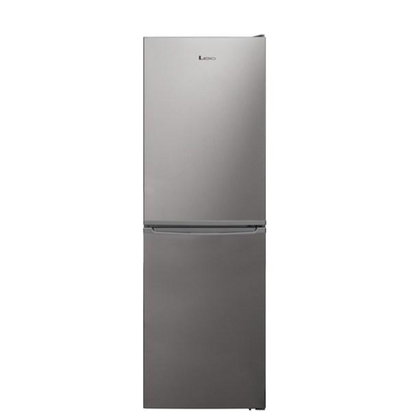 Lec TF55179S Free Standing Fridge Freezer Frost Free in Silver