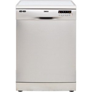 Zanussi ZDF36001XA Free Standing Dishwasher in Stainless Steel