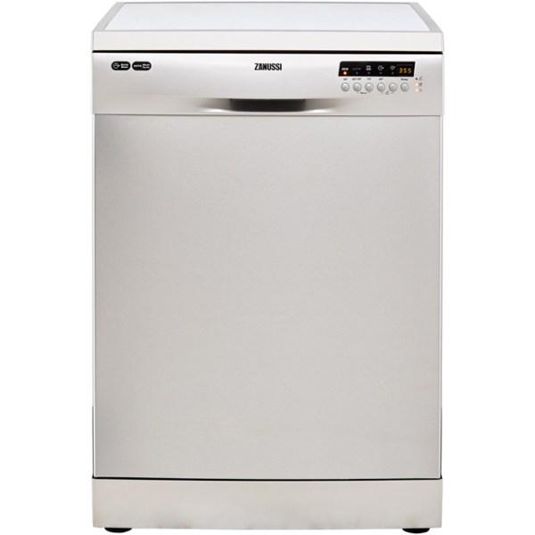 Zanussi ZDF36001XA Free Standing Dishwasher in Stainless Steel