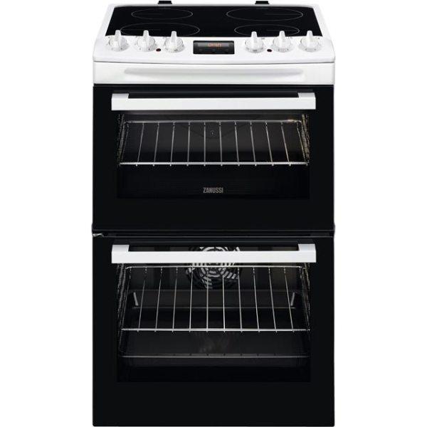 Zanussi ZCV46250WA Free Standing Cooker in White