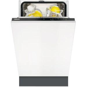 Zanussi ZDV12004FA Integrated Slimline Dishwasher in Black