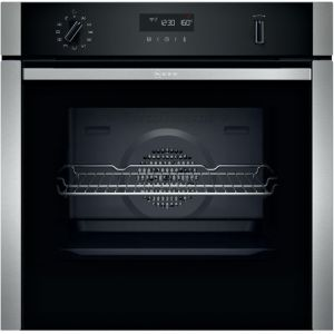 NEFF N50 B2ACH7HH0B Built In Electric Single Oven - Stainless Steel - A Rated