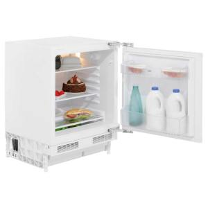 Beko BL21 Integrated Under Counter Fridge - Fixed Door Fixing Kit - White - A+ Rated