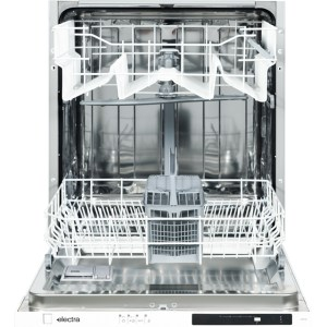 Electra C6012I Fully Integrated Standard Dishwasher - Black Control Panel - A++ Rated