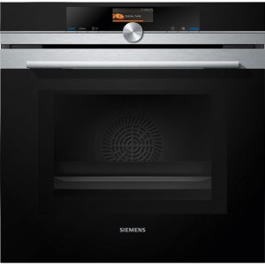 Siemens IQ-700 HM676G0S6B Built In Electric Single Oven with Microwave Function - Stainless Steel