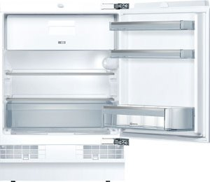 NEFF N50 K4336X8GB Integrated Under Counter Fridge with Ice Box - Fixed Door Fixing Kit - White - A++ Rated