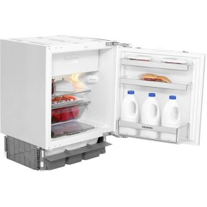 Siemens IQ-100 KU15LA60GB Integrated Under Counter Fridge with Ice Box - Fixed Door Fixing Kit - White - A++ Rated