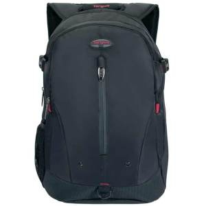 "Targus Terra Backpack for 16"" Laptop - Black / Red"