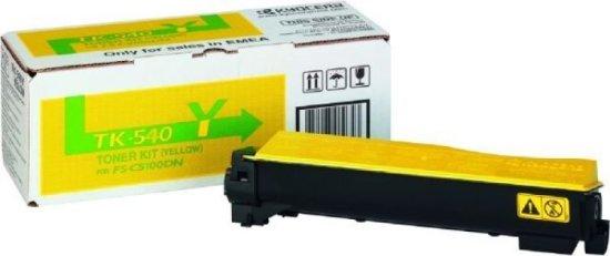 Kyocera TK 540Y Yellow Laser Toner Cartridge