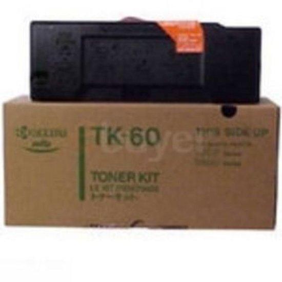 Kyocera TK-60 Black Toner Cartridge (20,000 Page Capacity)