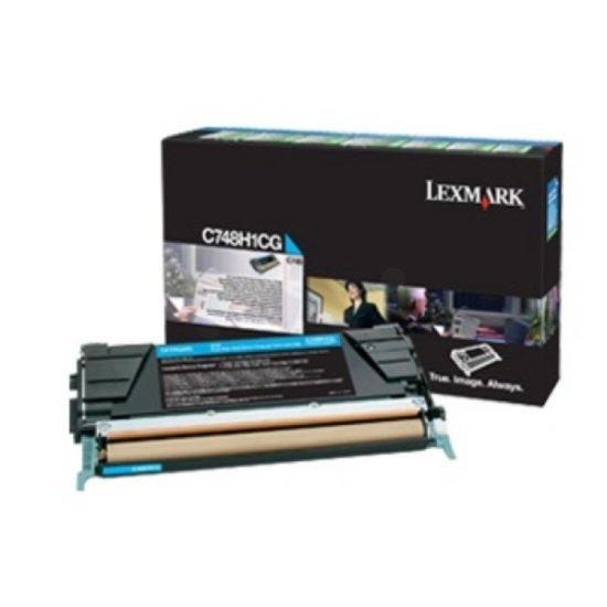 Lexmark C748 Cyan High Yield Toner Cartridge