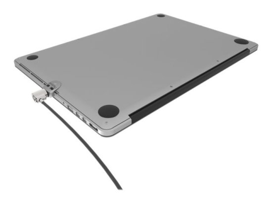 Maclocks The Ledge - System security kit - silver - for Apple MacBook