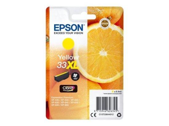 Epson 33XL Yellow Inkjet Cartridge