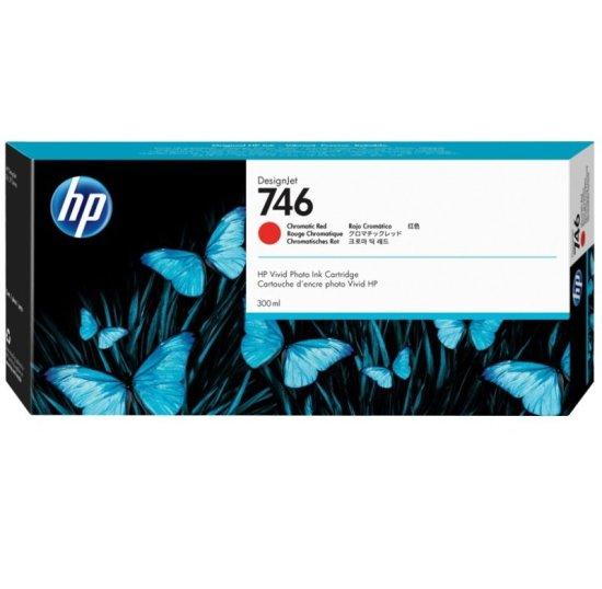HP 746 Chromatic Red Original Designjet Ink Cartridge - Standard Yield