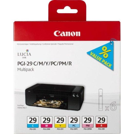 Canon PGI 29 Multi-Pack Ink Cartridges