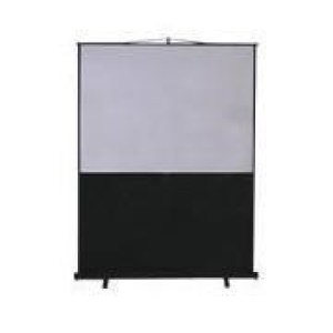 Metroplan Leader Portable Floor Screen - projection screen - 100 in