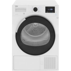 Beko DPHR8PB561W 8Kg Heat Pump Tumble Dryer - White - A+++ Rated