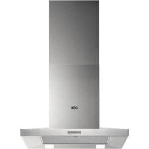 AEG DKB4650M 60 cm Chimney Cooker Hood - Stainless Steel - B Rated