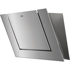 AEG DVB4850M 80 cm Angled Chimney Cooker Hood - Stainless Steel - B Rated