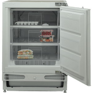 Electra EFUZ93I Integrated Under Counter Freezer with Fixed Door Fixing Kit - A+ Rated