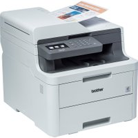 Brother DCP-L3550CDW 3-in-1 LED Printer - Grey   AO SALE