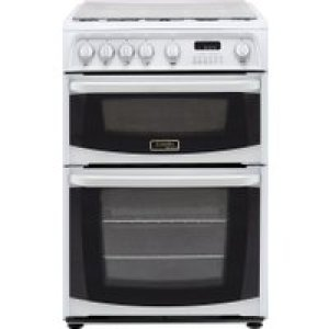 Cannon by Hotpoint CH60GCIW 60cm Gas Cooker with Variable Gas Grill - White - A+/A Rated   AO SALE