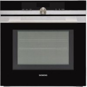 Siemens IQ-700 HM656GNS6B Wifi Connected Built In Electric Single Oven with Microwave Function - Stainless Steel   AO SALE
