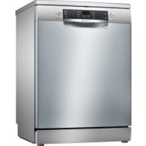 Bosch Serie 4 SMS46II01G Standard Dishwasher - Stainless Steel - A++ Rated   AO SALE