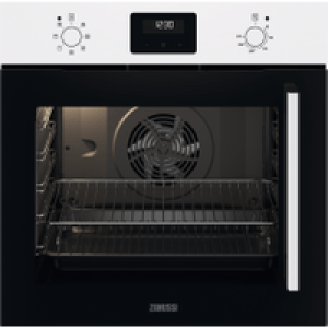 Zanussi ZOCNX3WL Built In Electric Single Oven - White - A Rated AO SALE