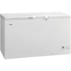 Haier HCE429R Chest Freezer - White - A+ Rated AO SALE
