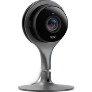 Nest Cam Indoor Security Camera Full HD 1080p - Black   AO SALE