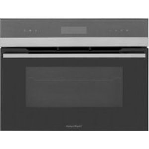 Fisher & Paykel Designer Companion OB60N8DTX1 Built In Compact Electric Single Oven - Black - A Rated   AO SALE