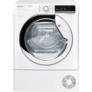 Hoover Dynamic Next DXOHY10A2TCE Wifi Connected 10Kg Heat Pump Tumble Dryer - White - A++ Rated   AO SALE