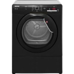 Hoover Link HLV9DGB 9Kg Vented Tumble Dryer - Black - C Rated   AO SALE